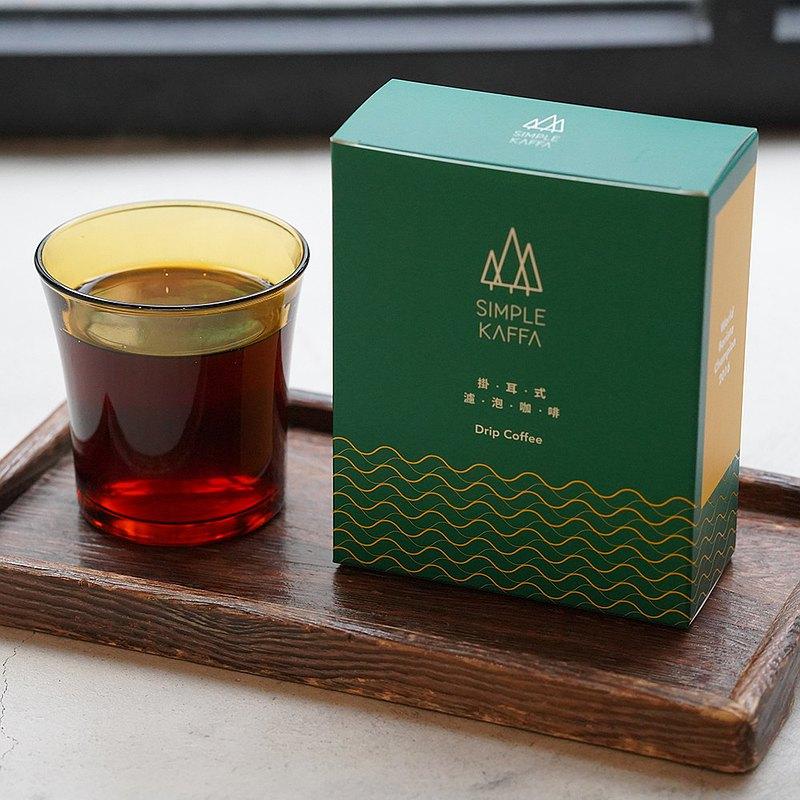 吳則霖Simple Kaffa 藝妓日曬濾掛式咖啡6包/盒