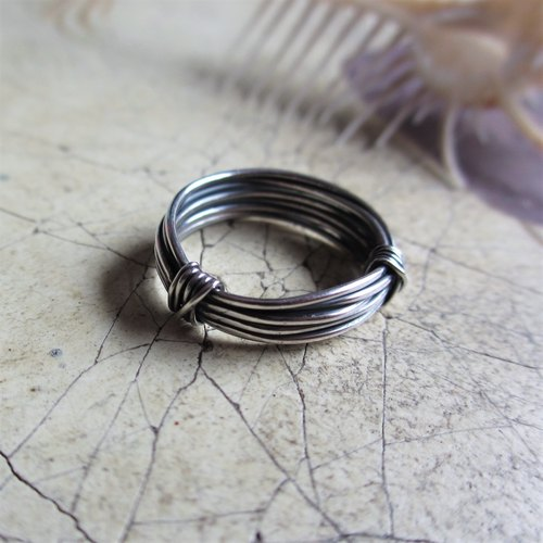 [wire] Silver Ring