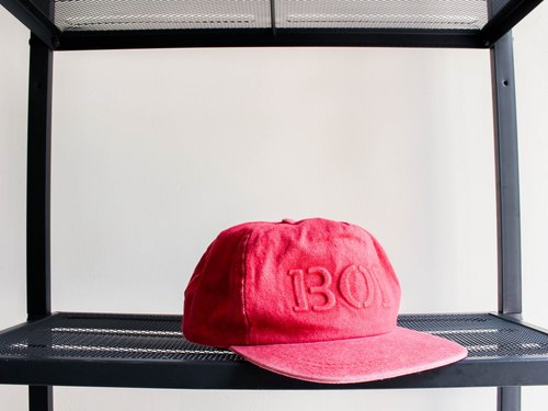 River Hill - Hejin summer season of love antique red fire cut five dome Benn baseball cap peaked cap / baseball cap