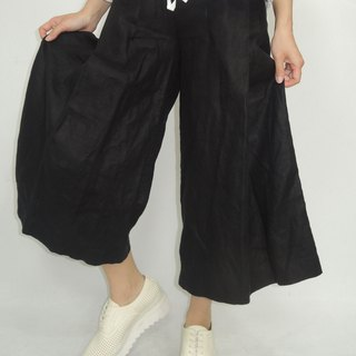 - Chicken Mother Dock - Fallen Large Frills Wide Ankle Pants