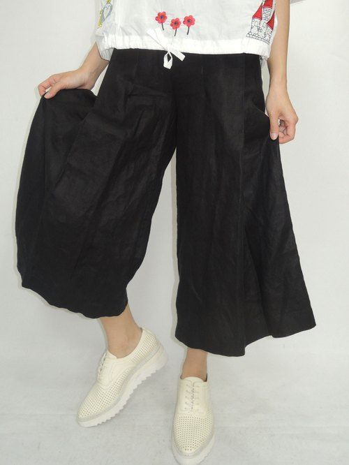 - Chicken Dumplings - neat big fold ankle pants