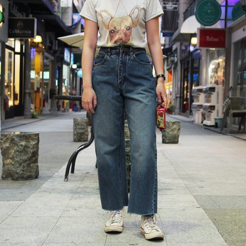 Tsubasa.Y 古著屋 藍色 Lee 牛仔褲 009, denim pants