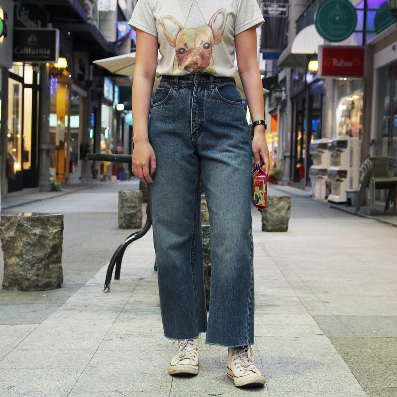Tsubasa.Y Ancient House Blue Lee Jeans 009, denim pants