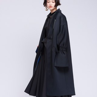 [Contactee] style wide-sleeved coat -2017 autumn and winter limited edition during the new original women's clothing