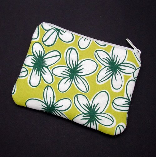 Zipper pouch / coin purse (padded) (ZS-176)