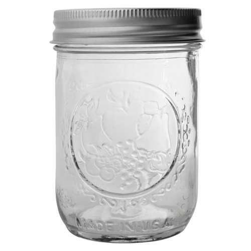 US imports of glass sealed Mason jar _8oz narrow mouth cans
