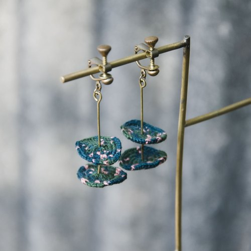 sylph crochet earrings #2