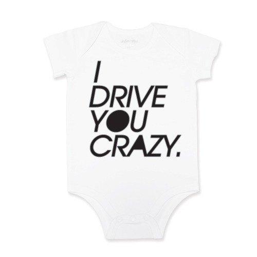 Package fart clothing jumpsuit I drive you crazy
