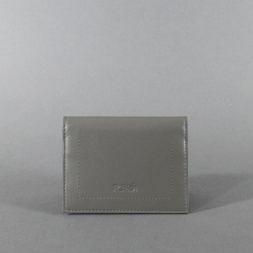 Passion card holder gray