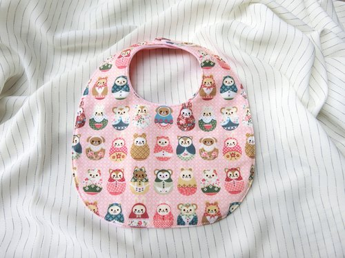 Russian Dolls - Button Bibs
