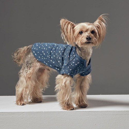 Small V-collar cardigan pet clothing