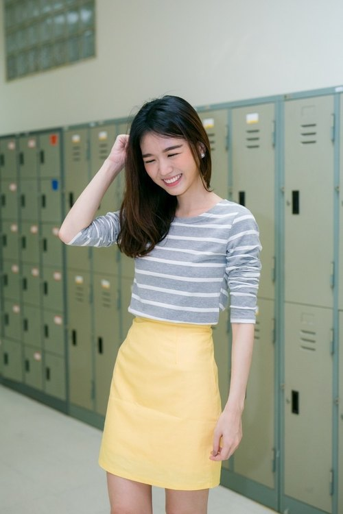 Striped comfy tee