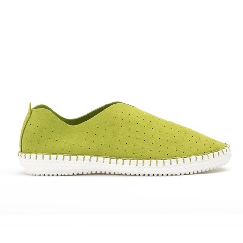 [ACROSS] Thanksgiving back two pairs of 500 yuan a Christmas gift of choice for ultra-lightweight lazy shoes colorful candy green LAZY SLIP ON