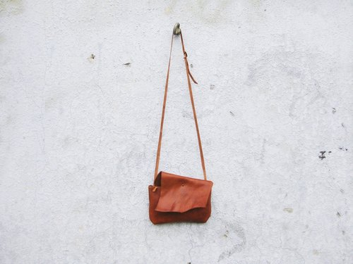 ~ After the garden ~ homemade accessories fall soft leather side back small square bag BC-280
