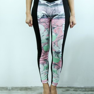 Hong Kong designer Blind by JW personal printing tights (Squirrel)