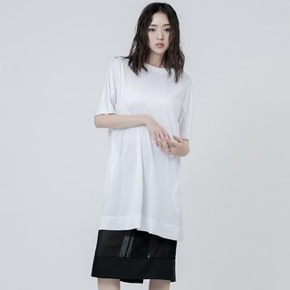內袖網狀上衣 Long T-shirt With Sleeves Details