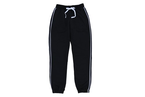 ✛ tools ✛ high density terry men and women can wear trousers # # # black pants :: comfort :: Leisure :: Sports
