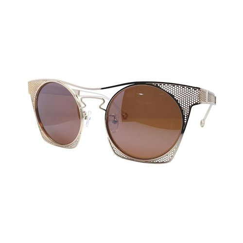 【ZALES】 Sunglasses combination of 1-gold Cobwed-1 gold sunglasses