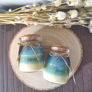 Ocean | Pure Essential Oil Scented Soy Candle ~ Mint Lemongrass | Wedding gift