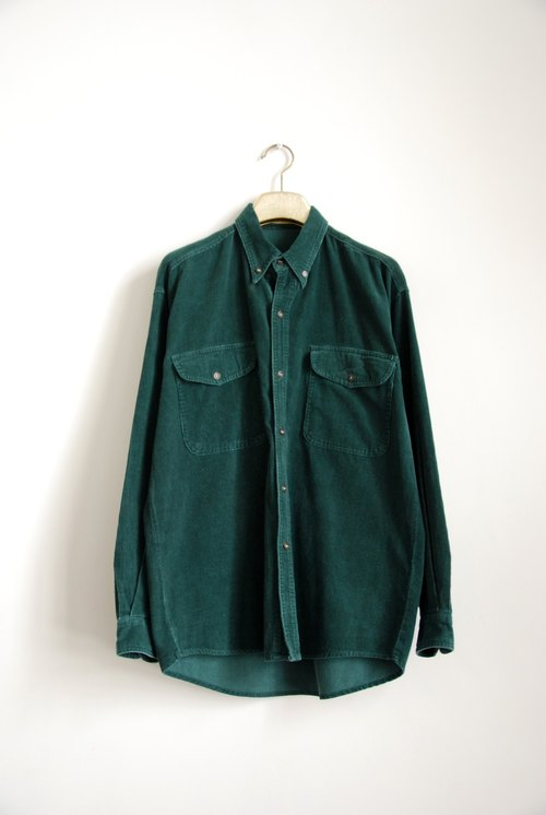 Neutral vintage corduroy shirt