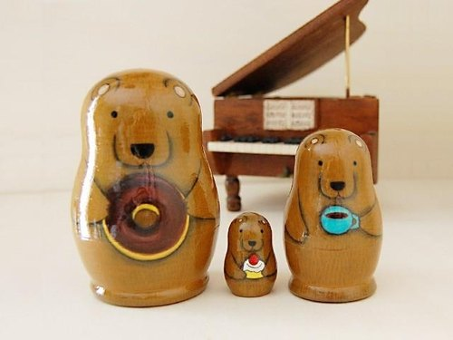 * Forest bear * Matryoshka * coffee time ♪