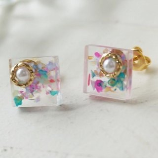 Dessert ♡ earrings / earrings (colorful)