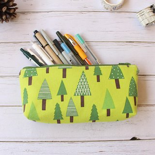Forest small tree pencil case (middle) / storage bag pencil case cosmetic bag