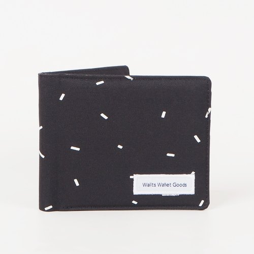 Wallts - Waterproof Canvas Wallet Adler SprinkleBlack