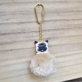 Cats the most beautiful Gillian, kitty key ring