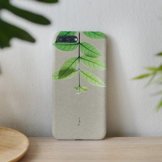iphone case upside down leaf for iphone5s, 6s, 6s plus, 7, 7+, 8, 8+, iphone x