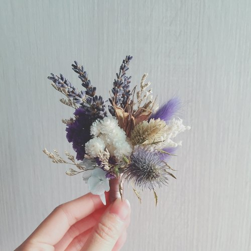 Hanayome series violet guardian dried flowers outdoor photo