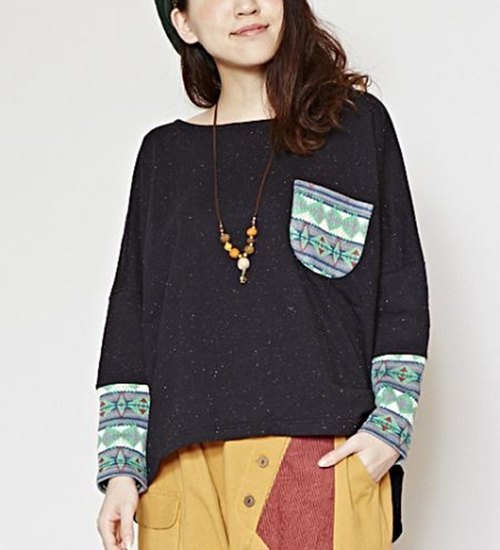【Pre-order】 ☼ autumn and winter new products - ethnic splicing totem coat ☼ (female models - colored)