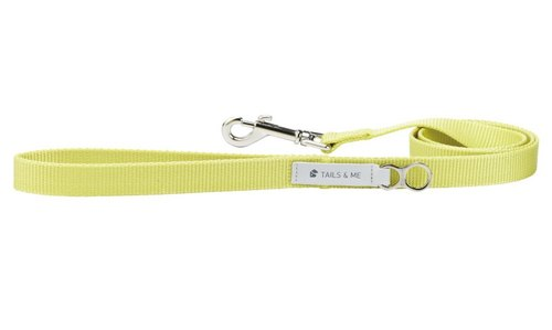 【Tail and I】 classic nylon with rope lemon yellow L