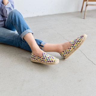 Japanese cloth handmade straw shoes - zephyr arrow