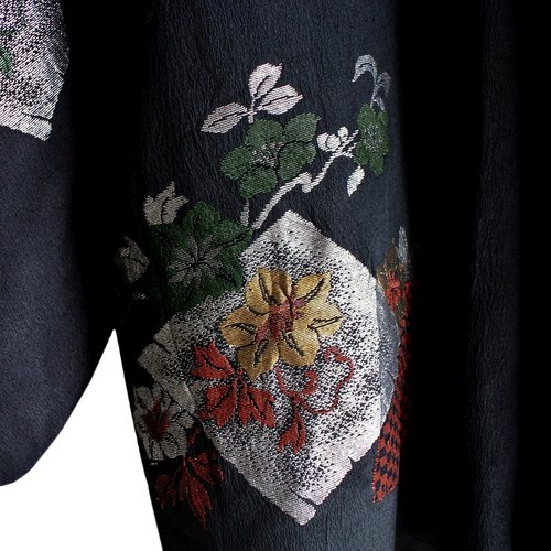 │Slowly│ Japanese Antiques - Light kimono coat G19│ .vintage retro vintage theatrical...