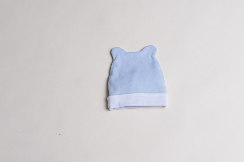 Bbc newborn hat (pink/blue)