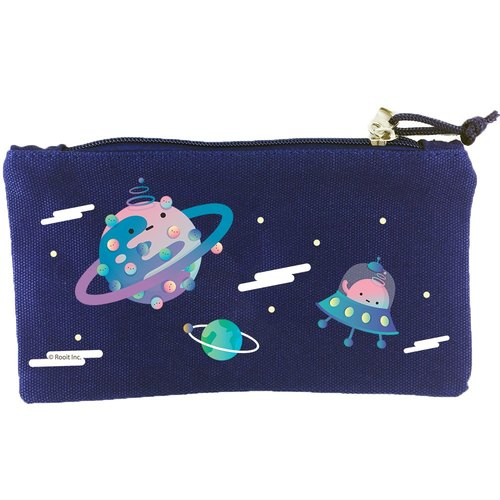 New series - [outer space] - pencil case (blue) - no personality star Roo, CH1BB02