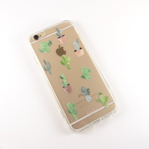 Cactus clear iPhone 6/6S case