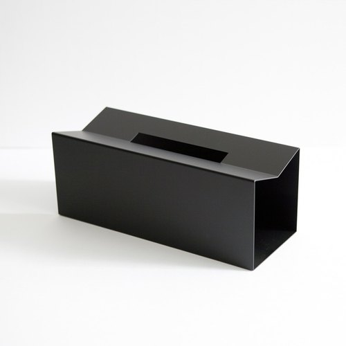M / tissue box - Black