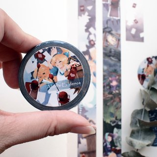 Fairy paper tape*Alice testimony*Alice in Wonderland Chapter XII
