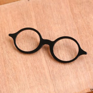 Japanese Handmade Ornaments - Eyeglasses Studs | Black