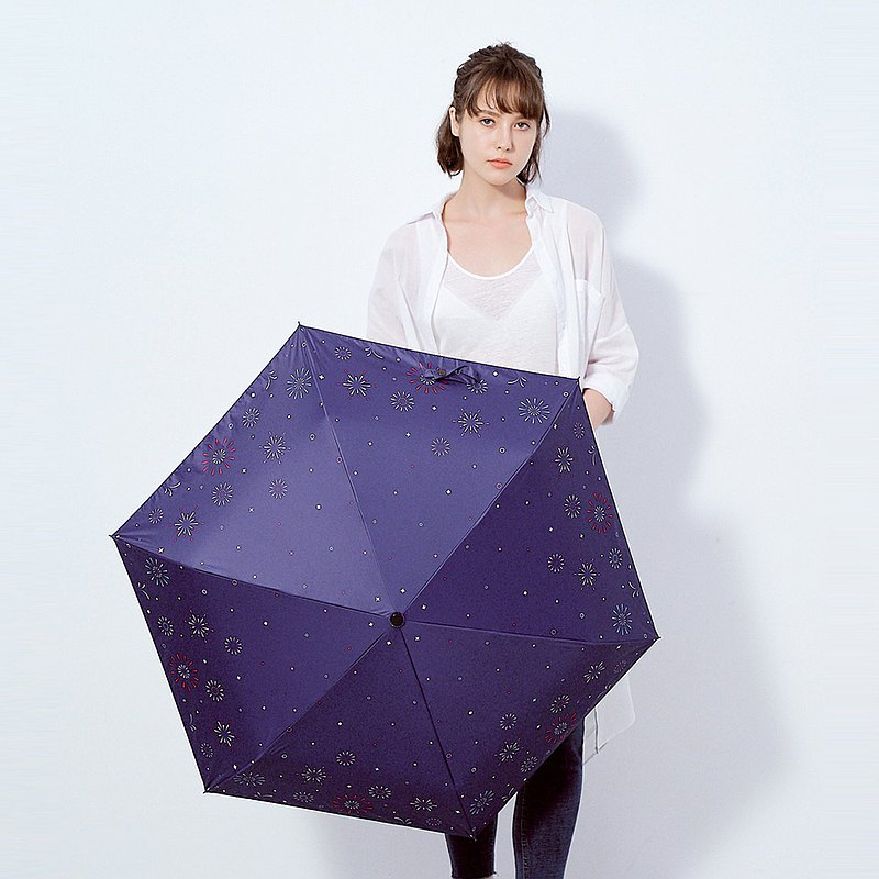 Prolla獨家限量設計 Hanabi花火 安全緩衝式自動傘