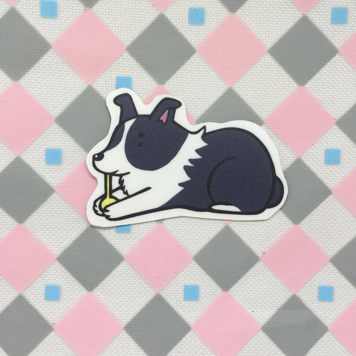 Border Collie - Bite Toys / Waterproof Stickers