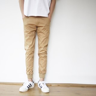 New color shelves Slim Jogger Slim pants / simple / neutral