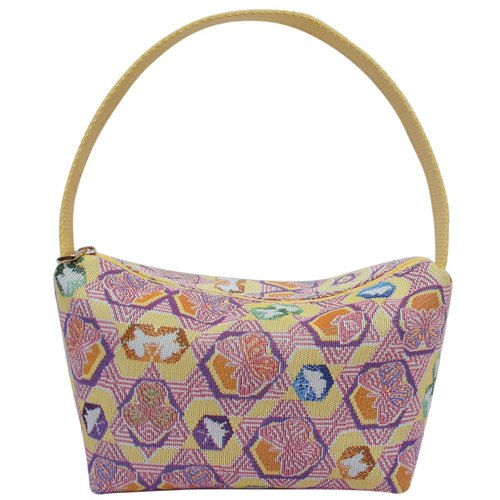 Jacquard weave Videos ingot yellow bag butterfly kaleidoscope