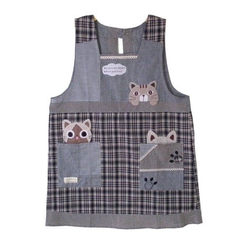[Breeze] BEAR BOY aprons - Baiyun cat