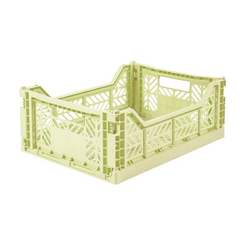 Turkey Aykasa folding basket (M) - melon green