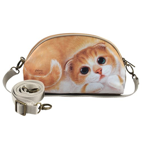 [Henry] animal family house Arc messenger bag (large) -Henna Huna ♥ ♥ multi-compartment portable shoulder hatchback |FSP3-CA028