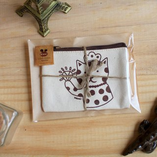 Purse ∣ cat cat cotton bag
