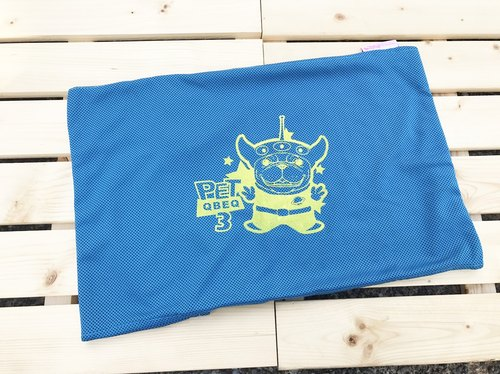 Dark blue three law bucket cool feeling cool pad sets (cool pad special